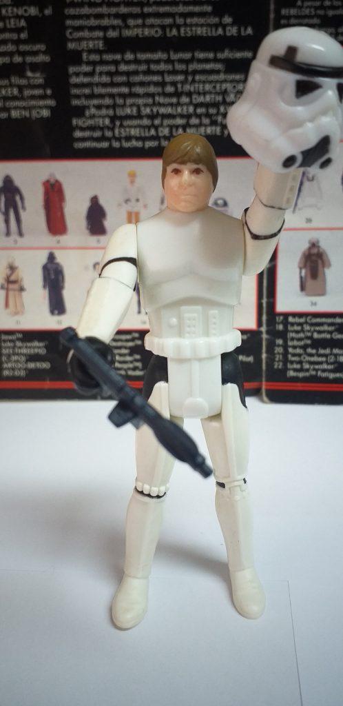 Luke Skywalker Stormtrooper disguise Ebay